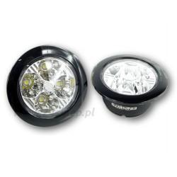 Światła do jazdy dziennej DRL 409 okrągłe