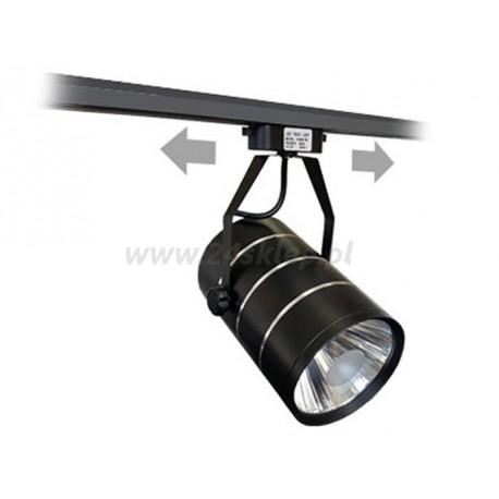 Lampa Sklepowa Led Czarna 25w Bc Do Systszyn Reset Mikro