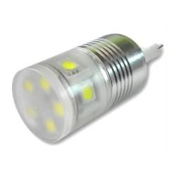 ŻARÓWKA LED G9 SMD5050 11 LED 230V LEDLINE ZIMNA
