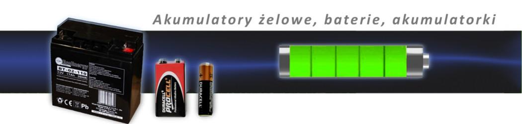 Akumulatory/ baterie
